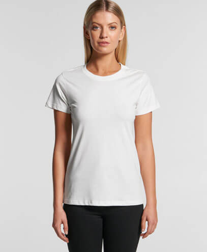 4001G Womens Maple Organic Tee - Worn