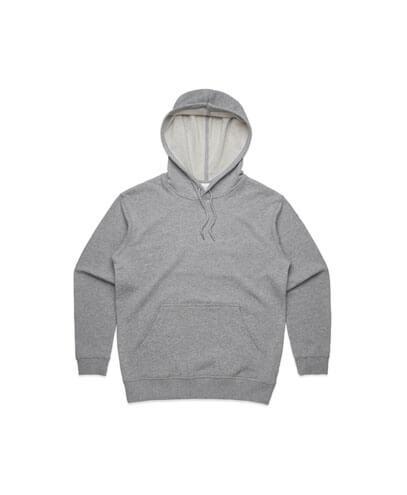 4120 Womens Premium Hoodie - Grey Marle