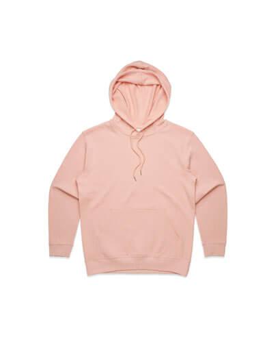 4120 Womens Premium Hoodie - Pale Pink