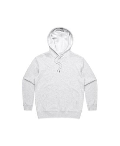 4120 Womens Premium Hoodie - White Marle