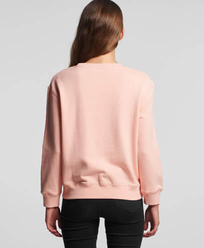 4121 Womens Premium Sweatshirt - Back View