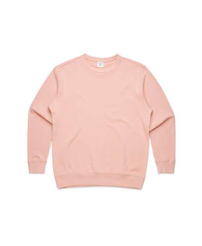 4121 Womens Premium Sweatshirt - Pale Pink
