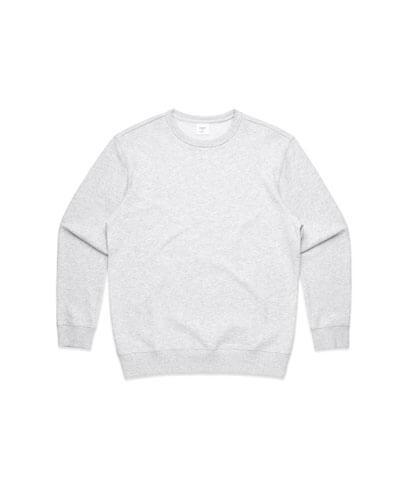 4121 Womens Premium Sweatshirt - White Marle