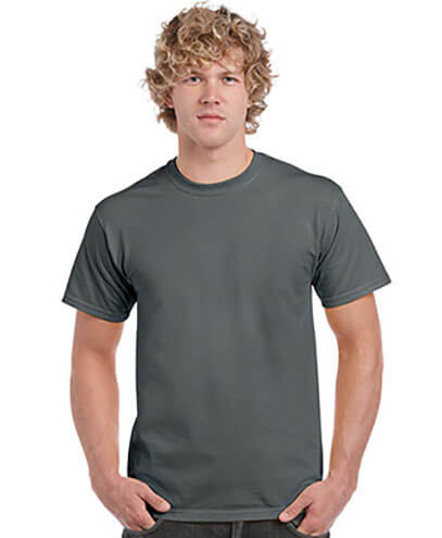 5000 Mens Basic T-shirt - Charcoal