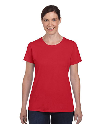 5000L Womens Basic T-shirt - Red
