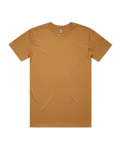 5001 Mens Staple T-shirt - Camel
