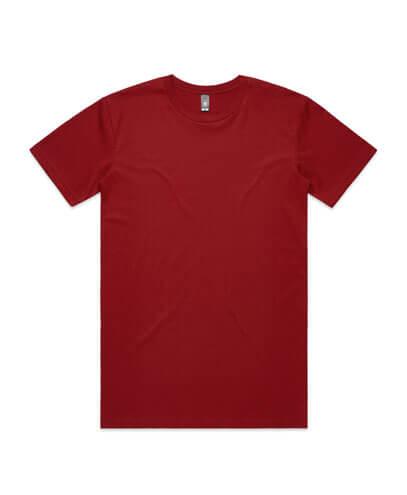 5001 Mens Staple T-shirt - Cardinal