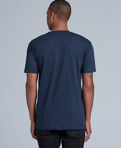 5001 Mens Staple T-shirt - Back