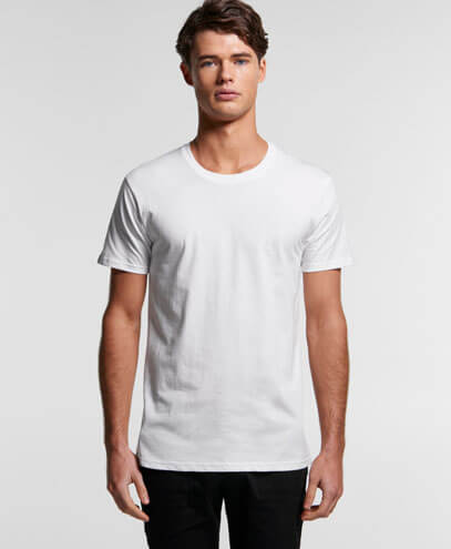 5001G Mens Staple Organic Tee - Worn