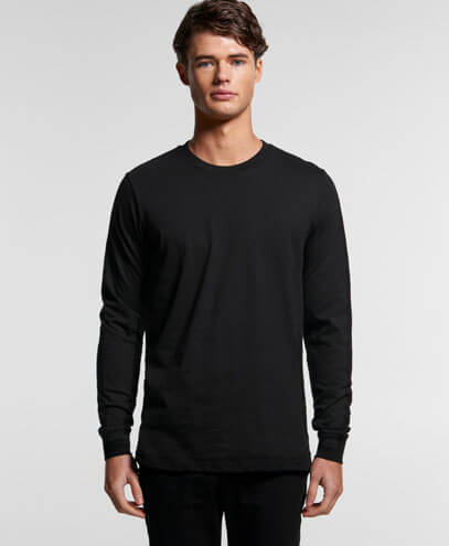 5029G Base Organic Long Sleeve Tee - Worn