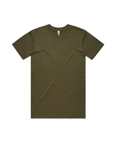 5051 Mens Basic Tee - Army