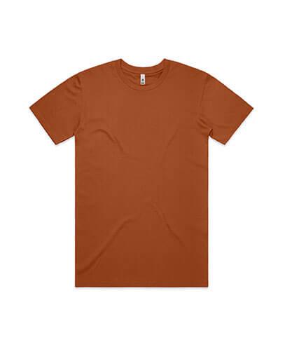 5051 Mens Basic Tee - Copper