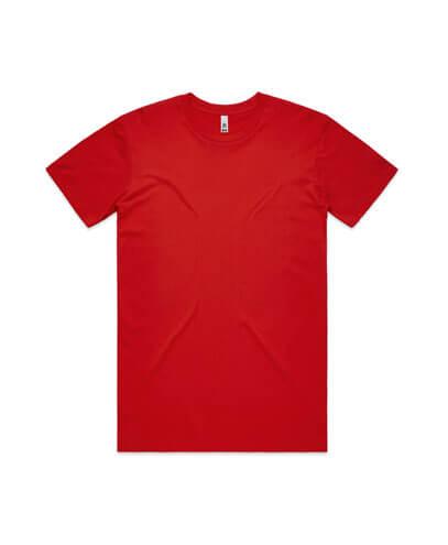 5051 Mens Basic Tee - Red