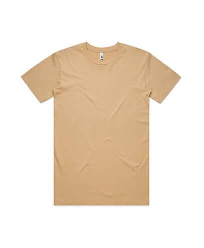 5051 Mens Basic Tee - Tan