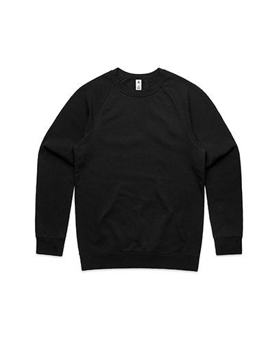 5100 Mens Supply Crew Sweatshirt - Black