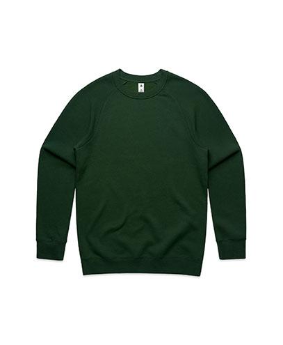 5100 Mens Supply Crew Sweatshirt - Forest Green