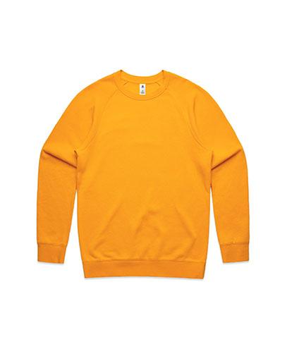 5100 Mens Supply Crew Sweatshirt - Gold