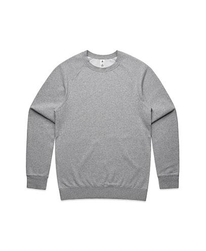 5100 Mens Supply Crew Sweatshirt - Grey Marle
