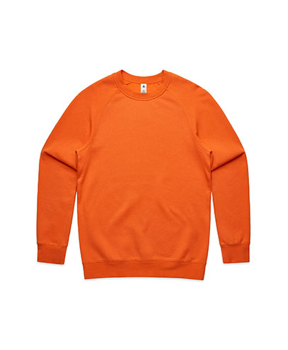5100 Mens Supply Crew Sweatshirt - Orange