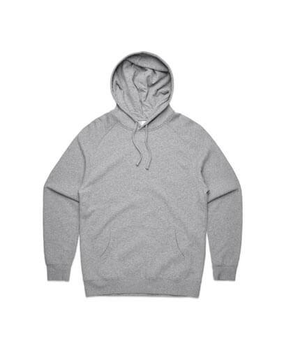 5101 Mens Supply Hoodie - Grey Marle