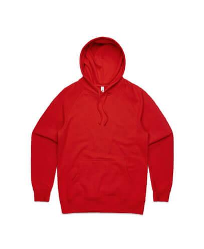 5101 Mens Supply Hoodie - Red