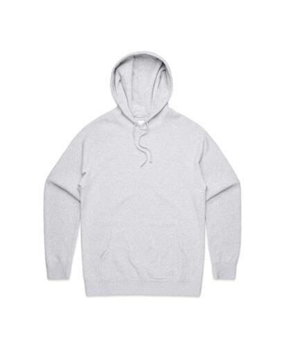 5101 Mens Supply Hoodie - White Marle