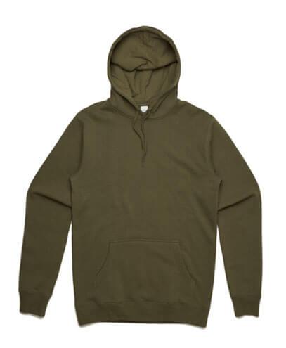 5102 Mens Stencil Hoodie - Army