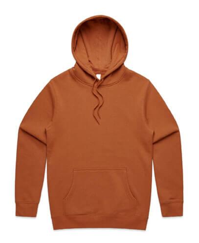 5102 Mens Stencil Hoodie - Copper