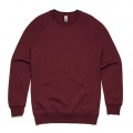 5104 Adults Box Crew - Maroon