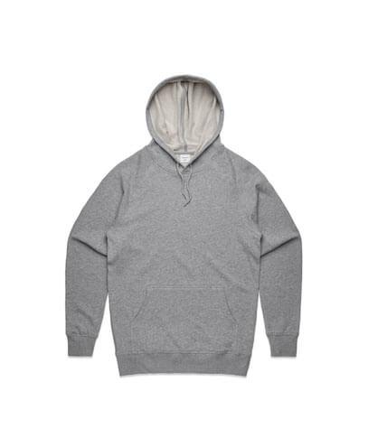 5120 Adults Premium Hoodie - Grey Marle