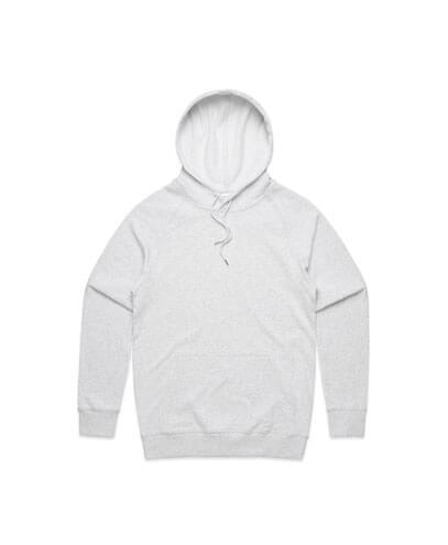 5120 Adults Premium Hoodie - White Marle