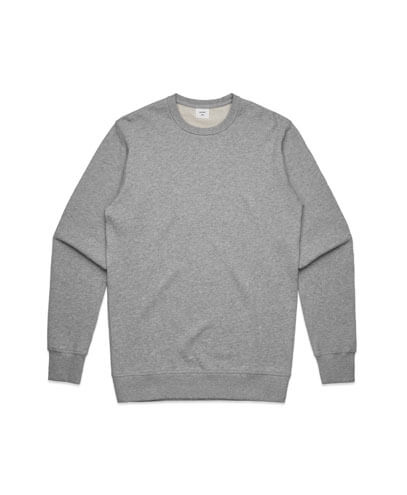 5121 Mens Premium Sweatshirt - Grey Marle