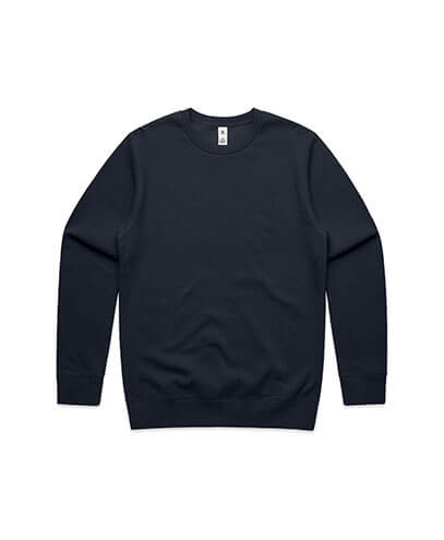 5130 Adults United Crew Neck Sweatshirt - Navy