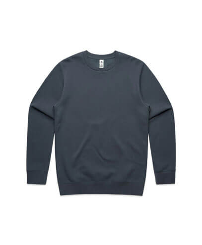 5130 Adults United Crew Neck Sweatshirt - Petrol Blue