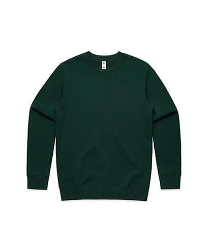 5130 Adults United Crew Neck Sweatshirt - Pine Green