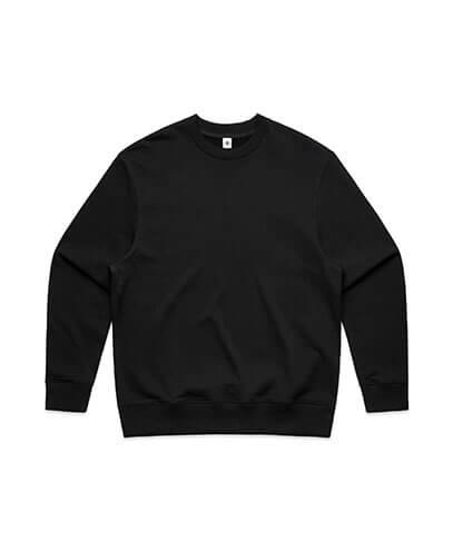 5145 Mens Heavy Crew Sweatshirt - Black