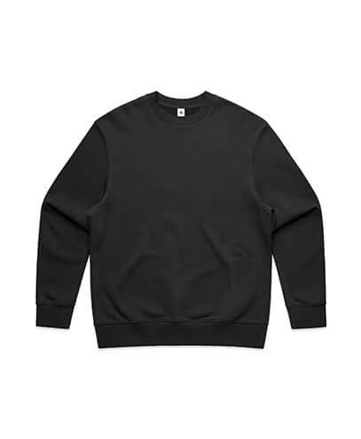 5145 Mens Heavy Crew Sweatshirt - Coal