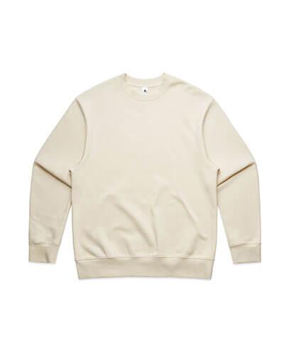 5145 Mens Heavy Crew Sweatshirt - Ecru