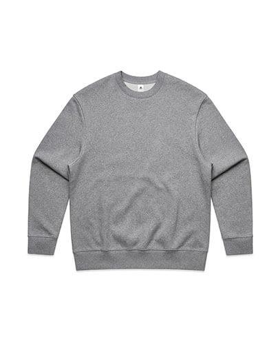 5145 Mens Heavy Crew Sweatshirt - Grey Marle
