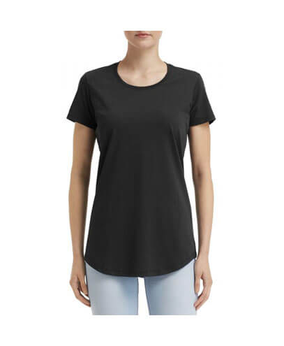 790L Anvil Women Urban Tee - Black
