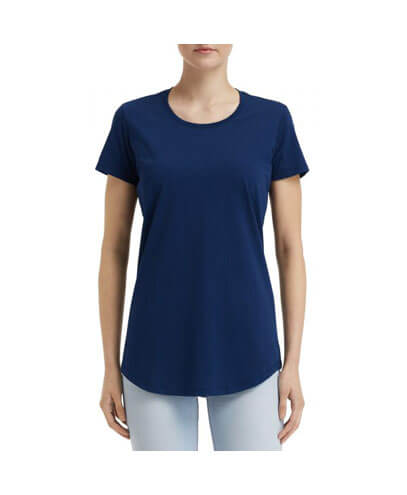 790L Anvil Women Urban Tee - Navy