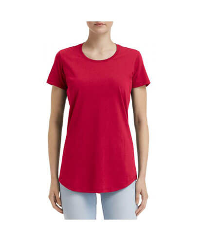 790L Anvil Women Urban Tee - Red