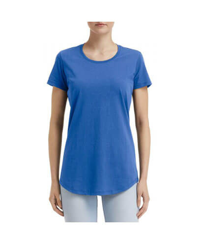 790L Anvil Women Urban Tee - Royal Blue