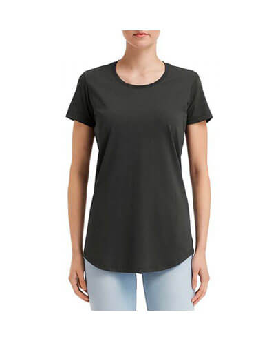 790L Anvil Women Urban Tee - Smoke
