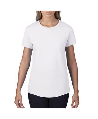 790L Anvil Women Urban Tee - White