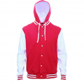 HLM Adults Hooded Letterman - Front