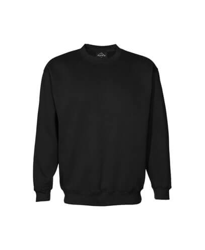 CSI Adults Crew Neck Sweatshirt - Black