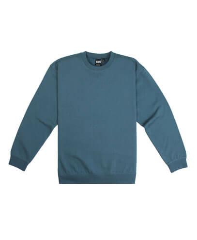 CSI Adults Crew Neck Sweatshirt - Bluestone