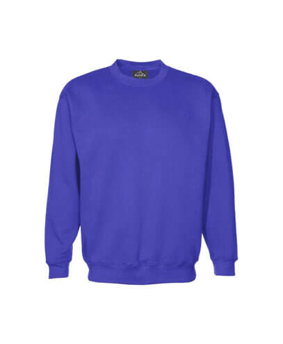 CSI Adults Crew Neck Sweatshirt - Bright Royal