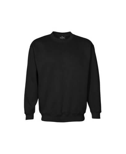 CSIK Kids Crew Neck Sweatshirt - Black